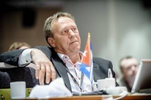 Landsmøte 2013: Forbundsleder Jan-Egil Pedersen. (Foto: Erlend Angelo)
