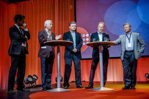 Landsmøte 2013: Paneldebatt under temadagen. (Foto: Erlend Angelo)
