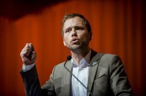 Landsmøte 2013: SV-leder Audun Lysbakken. (Foto: Erlend Angelo)