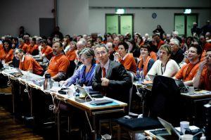 Landsmøte 2013: Statsminister Jens Stoltenberg. (Foto: Erlend Angelo)