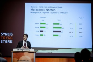 Landsmøte 2013: Temadag. Ivar Pettersen, NILF. (Foto: Erlend Angelo)